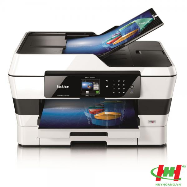 Máy in màu đa năng Brother MFC-J3720 (In A3,  in qua mạng,  wifi,  scan,  copy,  fax)