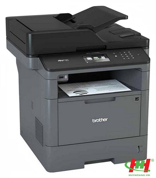 Máy in laser đa năng Brother MFC–L5700DN (in qua mạng,  scan,  photo,  fax)