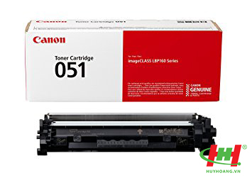 Mực in Canon Cartridge 051 Black (LBP161dn, 162dw,  mf269dw) 1700 trang