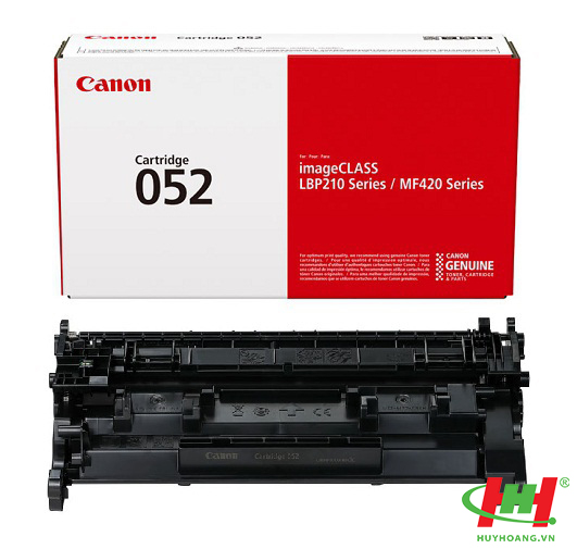 Mực in Canon Cartridge 052 Black (LBP214dw,  MF426dw,  MF424dw)