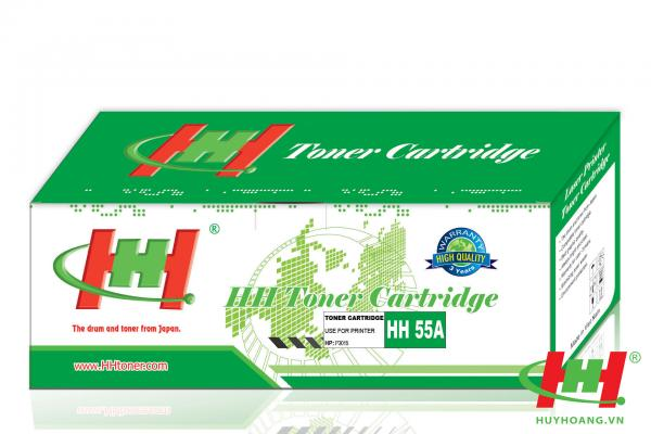 Mực máy in HP LaserJet P3015 P3015N P3015D P3015DN CE255A (HH 55A)