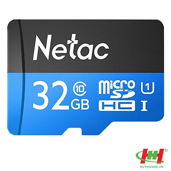 Thẻ Nhớ Micro SD Netac 32GB,  chuyên cho camera