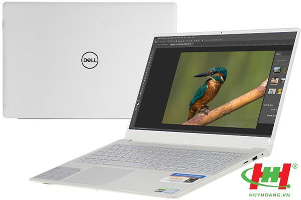 """Máy tính xách tay Dell Ins N7591 (KJ2G41) I7-9750H/8GD4/ 256G SSD/ VGA-3G/Win10/ LED_KB/FP / BẠC/15.6""""FHD"""