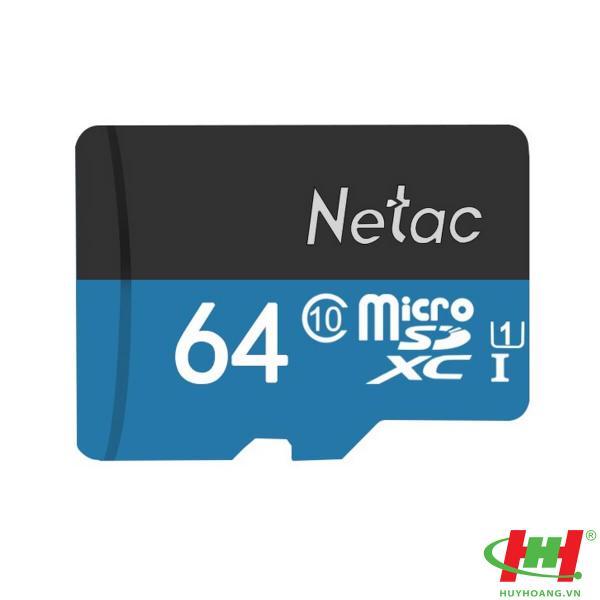Thẻ Nhớ Micro SD Netac 64GB chuyên cho camera