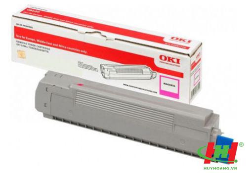 Mực máy in Oki C612 Magenta