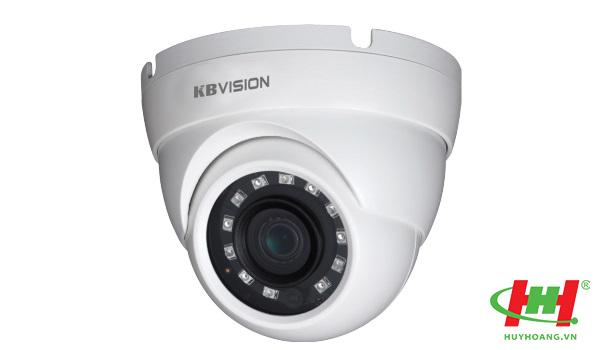 Camera Dome KBVision 4 in 1 (CVI,  TVI,  AHD,  Analog) KX-C5012S4