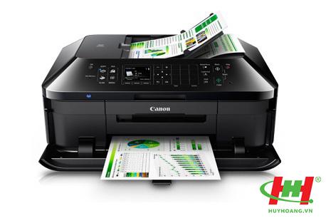 Máy in phun màu đa năng Canon MX727 (in,  scan,  copy,  fax,  Wifi ,  duplex,  Network)
