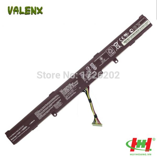 Pin laptop Asus GL752,  GL752VL,  GL752VW,  N552VW,  N752VX,  A41LK9H Tốt