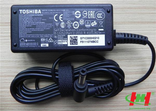 Sạc Adapter Laptop Toshiba 19V2.37A