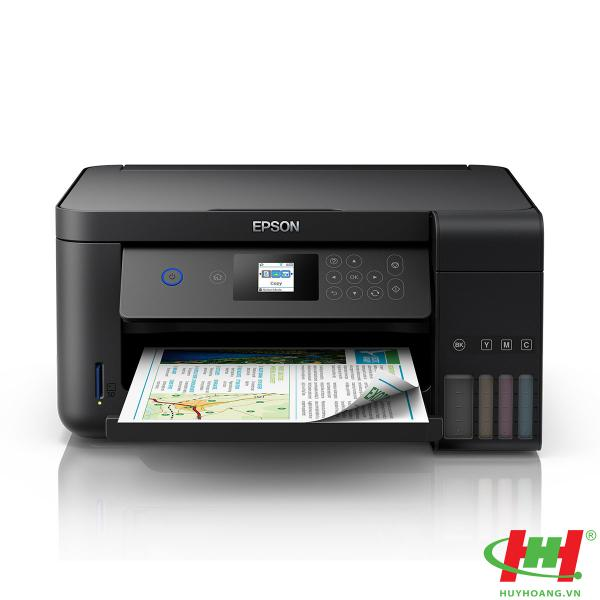 Máy in phun màu Epson L4160 (In,  scan,  Copy,  Wifi,  Duplex)