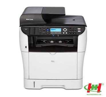 Máy in Laser đa năng Ricoh Aficio SP3510SF (in 2 mặt,  in qua mạng,  scan,  copy,  fax)