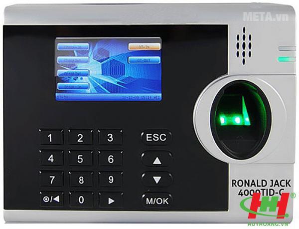 Máy Chấm Công Ronald Jack 4000TID-C (vân tay + thẻ cảm ứng)