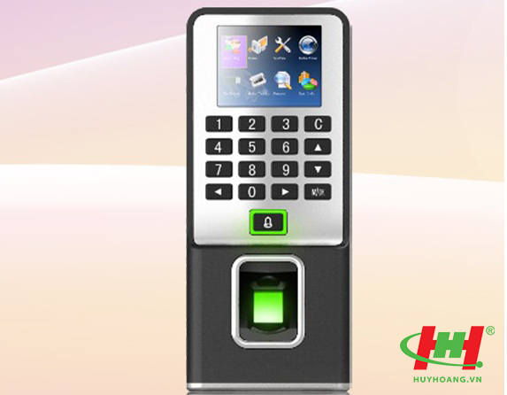 Máy chấm công kiểm soát cửa RONALD JACK F19 (bằng vân tay,  thẻ cảm ứng) 4000 dấu vân tay + thẻ