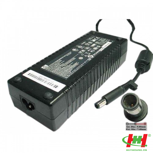 Adapter Laptop HP 19V-7.1A Đầu kim,  135W
