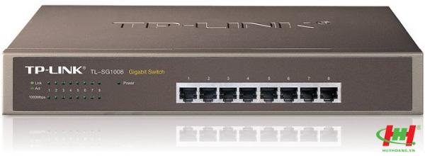 Gigabit Switch 8-port 10/ 100/ 1000M TP-Link TL-SG1008