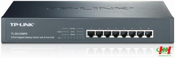 Bộ Cấp Nguồn 8-Port Gigabit PoE Switch TP-LINK TL-SG1008PE