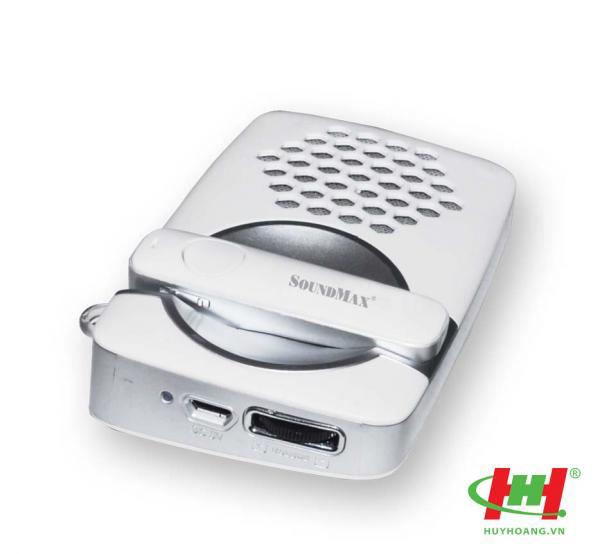 Tai nghe nhét tai SoundMax F3 Bluetooth + Kèm sạc năng lượng mặt trời