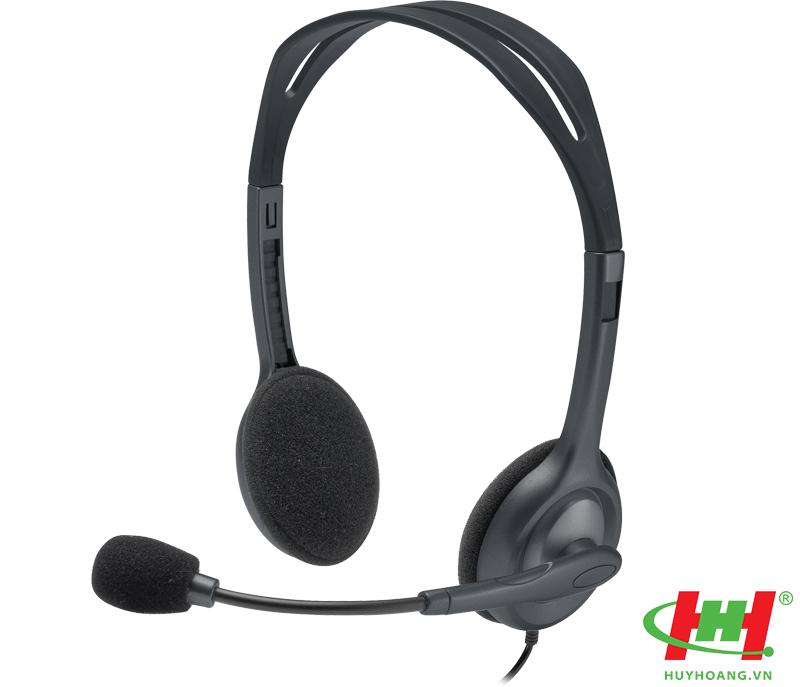 Tai nghe On-ear Logitech H111 (dùng cho laptop)