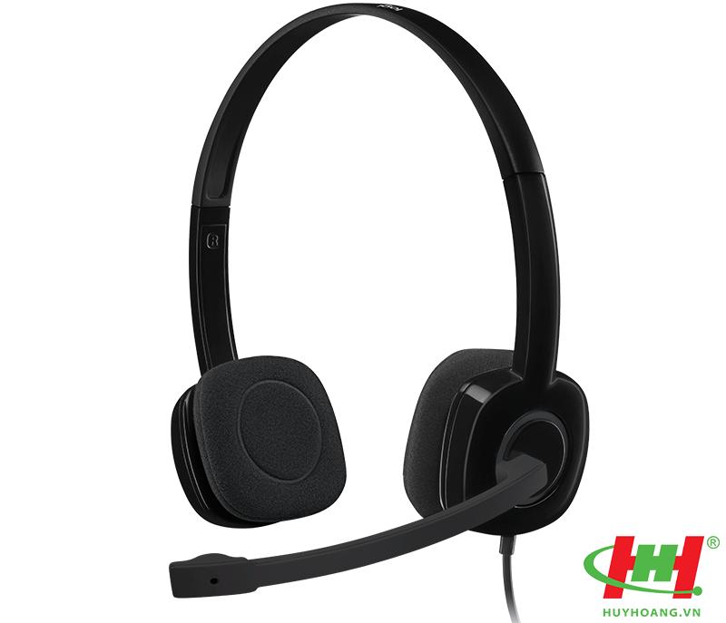 Tai nghe Logitech H151 Stereo Headset (dùng cho laptop)