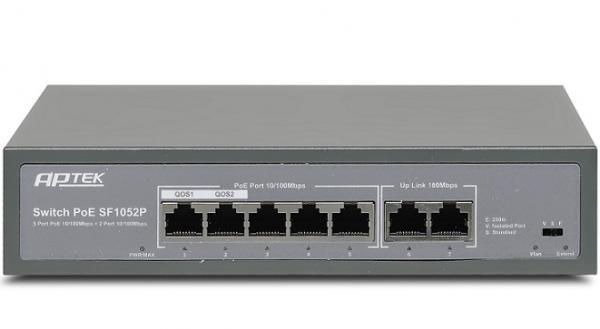 Switch 5 port PoE APTEK SF1052P