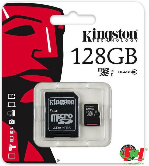 Thẻ nhớ 128Gb Micro SDHC Kingston