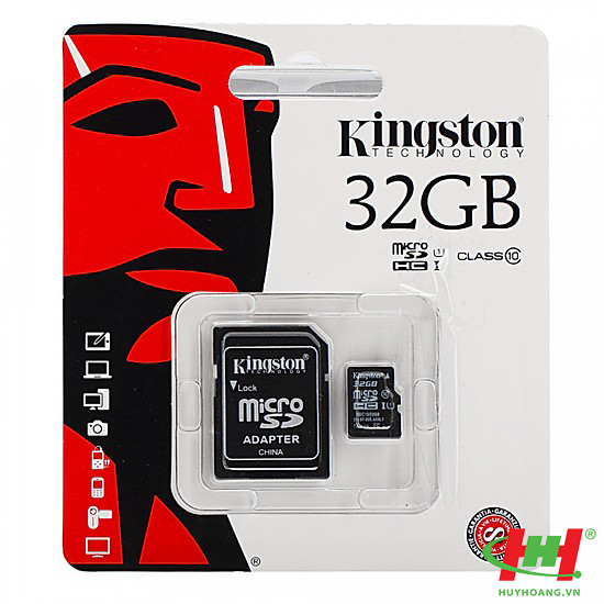 Thẻ nhớ 32Gb Micro SDHC Kingston