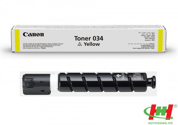 Mực máy in Canon MF810Cdn MF820Cdn Toner 034 Yellow