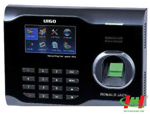 Máy chấm công vân tay và thẻ Ronald Jack U160C/ ID cũ