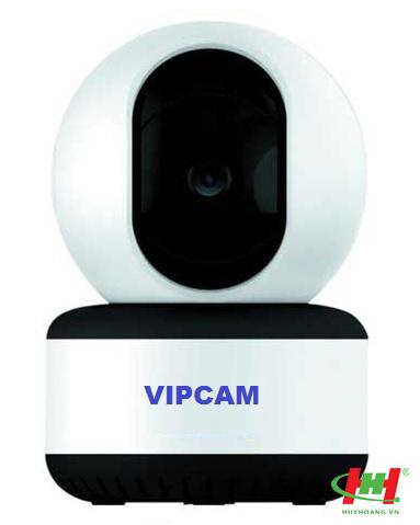 Camera IP WIFI đàm thoại 2 chiều full HD xoay 360 độ VIPCAM1 (tặng kèm thẻ nhớ 32GB)