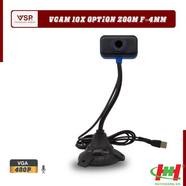 Webcam VSP 480p HD / Chân Cao Vuông / Có Mic