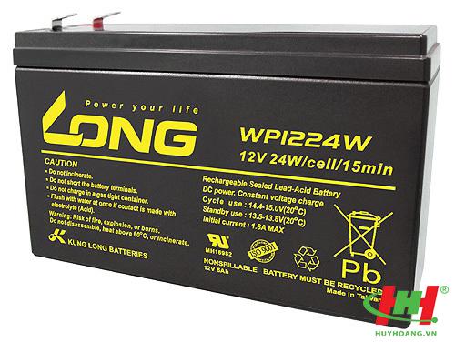 Bình ắc quy Long 12V-6Ah SLIM (WP1224W)