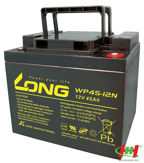 Bình ắc quy Long 12V-45Ah (WP45-12N)