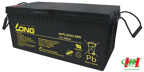 Bình ắc quy Long 12V-200Ah (WPL200-12N)