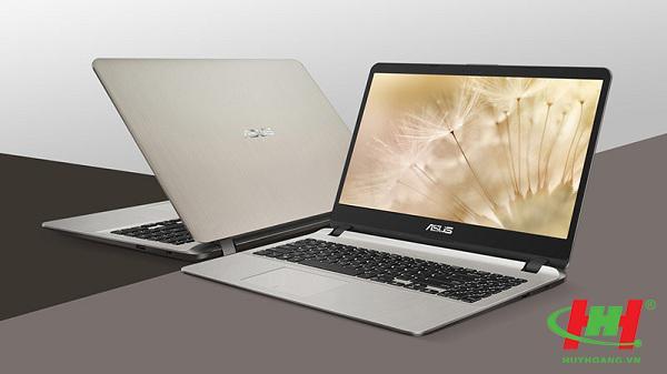 """Máy tính xách tay ASUS X507MA-BR064T Pentium N5000/4GD4/1T5/Win10/FP/Vàng/15.6""""HD"""