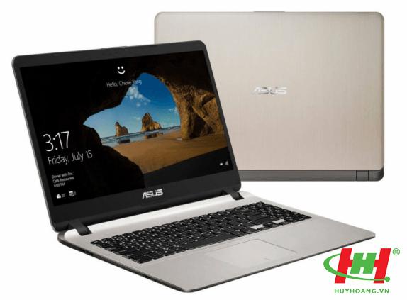 Máy tính xách tay ASUS X507U - EJ077T i5-8250U/ 4GD4/1T5/ 15.6FHD/ VÀNG/ WIN10SL/ 2GD5_MX130