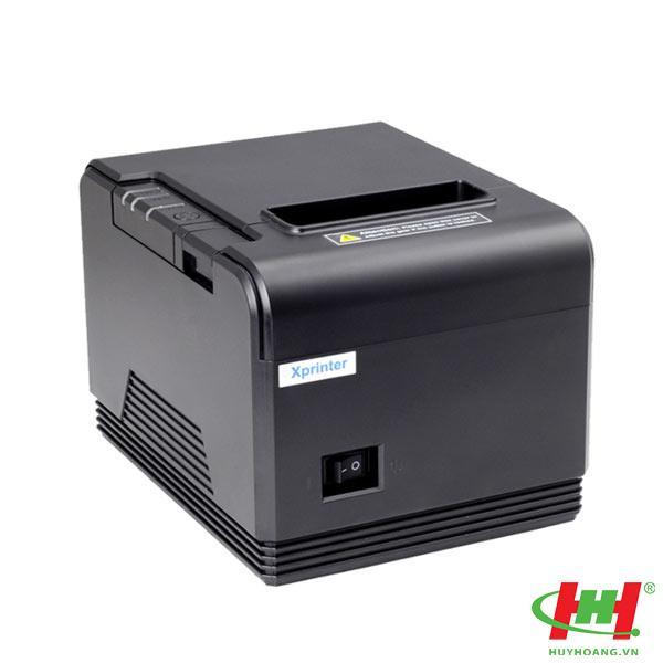 Máy in hóa đơn Xprinter XP Q80i USB + LAN